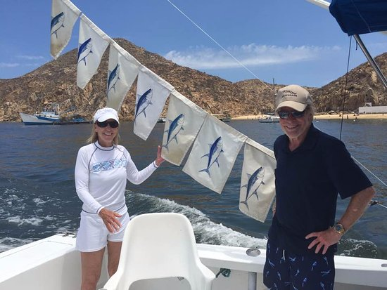 ABY Charters : A big day for Tuna...we ran out of flags!