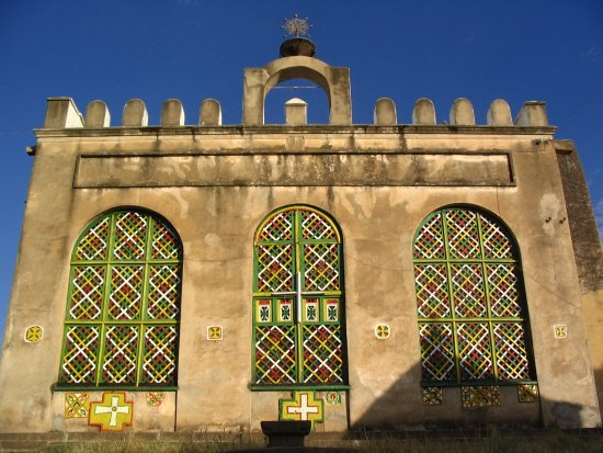 The Ruins of Aksum: The Church of Our Lady Mary of Zion claims to contain Ark of the Covenant