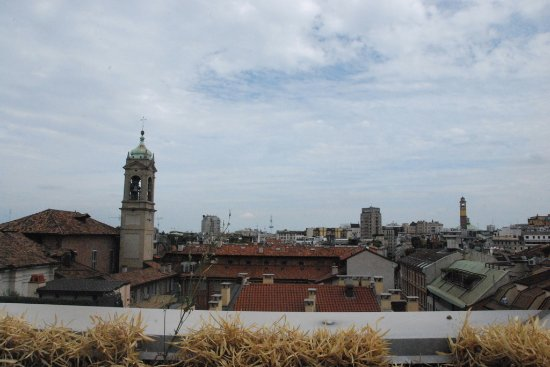Armani Hotel Milano: View out from our deck