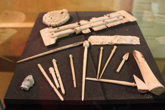 Villascopia: qielques objets découverts lors des fouilles
