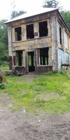 Douglas, AK: treadwell mine building