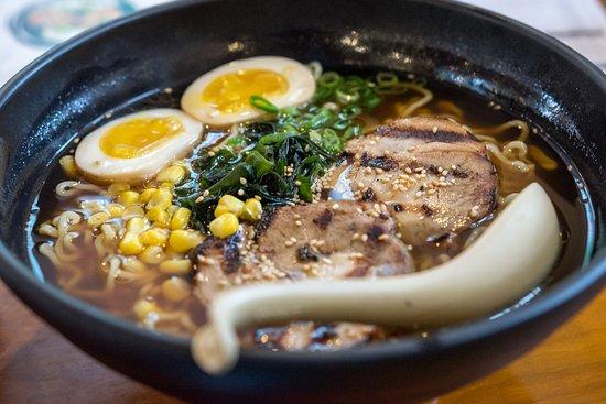 Roasted Pork Ramen - Picture of Tokachi Japanese Restaurant