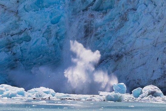 Gustavus, AK: Glacier Calving