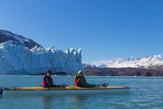 Gustavus, AK: Paddling in Tarr Inlet-Marjorie Glacier