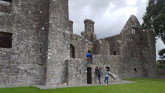 Navan, Ierland: Main entrance to the abbey