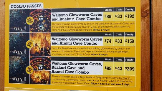Waitomo Glowworm Caves: 20170828_084136_large.jpg