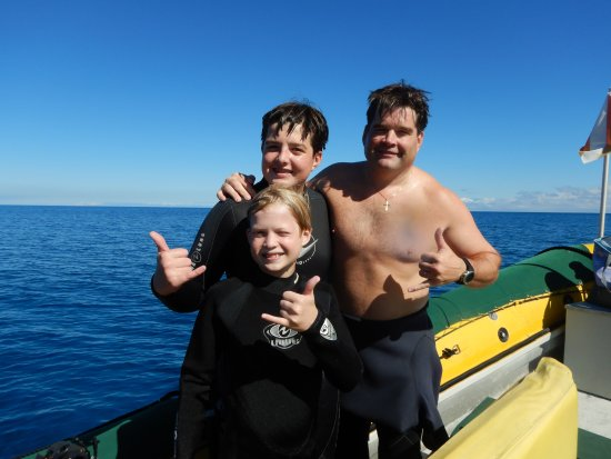 Blue Wilderness Dive Adventures: Post Dive