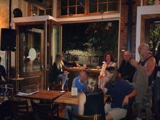 5 Walnut Wine Bar Seats By The Window