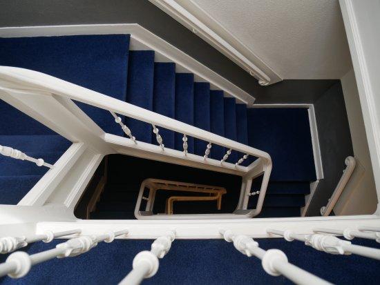 Hotel La Boheme: The famous stairs :)