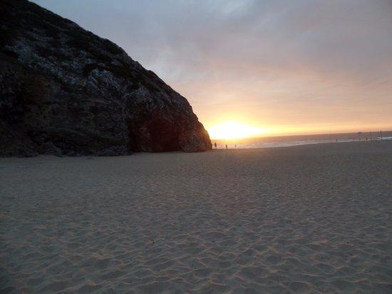Walk Hike Portugal: Sunset after dinner.