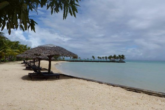 25952439eb9c5a Short walk from our room - Picture of Sheraton Samoa Beach Resort ...