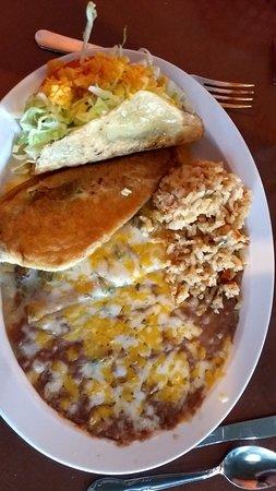 Oro Valley, AZ: Small Beef Combination dinner