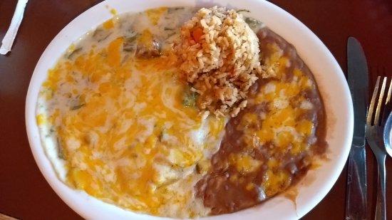 Oro Valley, AZ: Cheese Enchilada Dinner