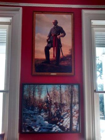Dublin, VA: Library room framed art