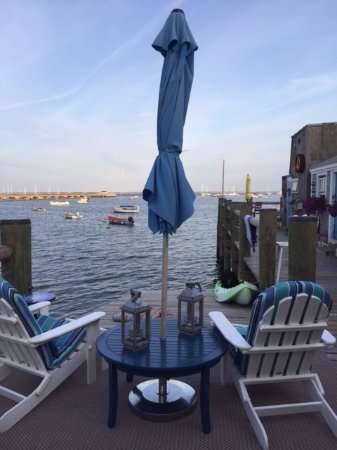 Sal's Place: The deck