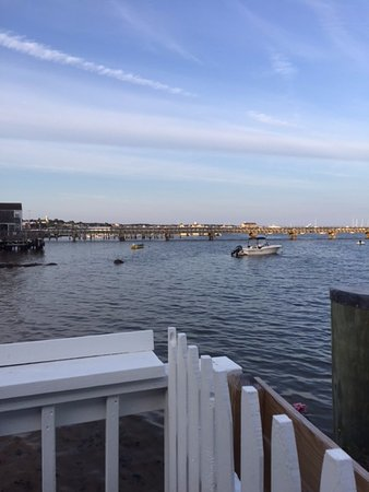 Sal's Place: The harbor from the deck