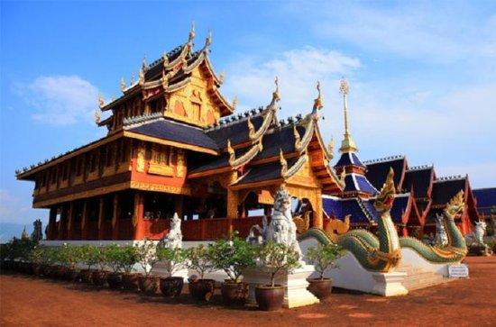 Bau Thong Waterfalls, Tea, and Wat