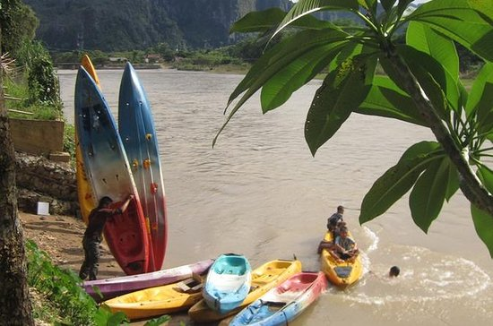 Full-Day Nam Khan River Kayak Private Tour from Luang Prabang