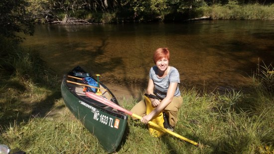 Canoeing the brazos river
