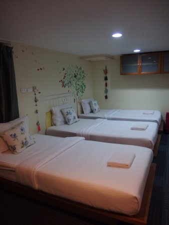 Baan Dinso Hostel: Chambre familiale