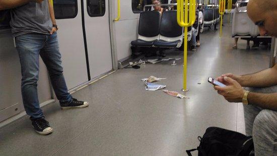 tunnelbana biljett mobil