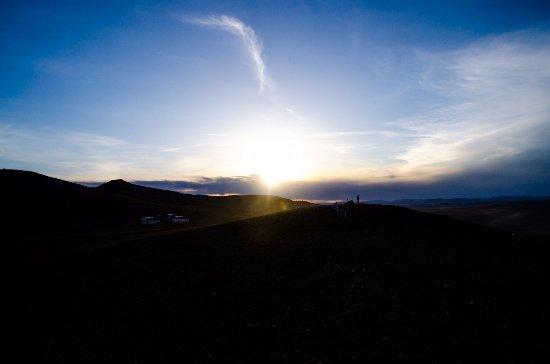 Tov Province, Mongolia: sunrise