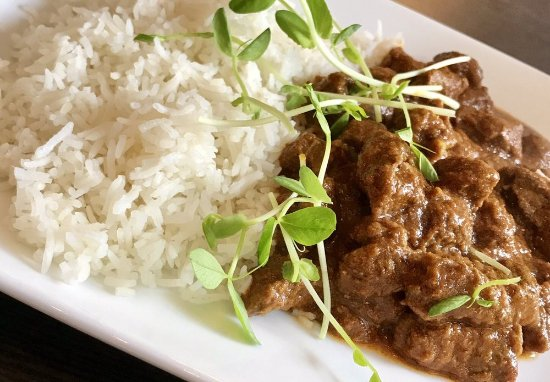 New Hamburg, Canada : Beef Curry