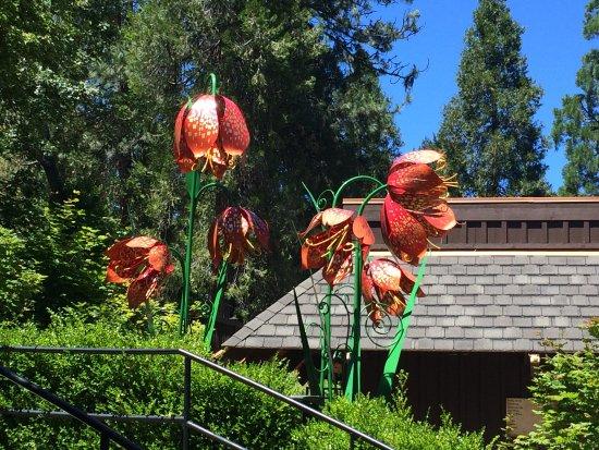 Red Lily Vineyards: Cheryl Garcia metal art