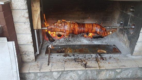 Silo, Kroatia: dio ponude restorana