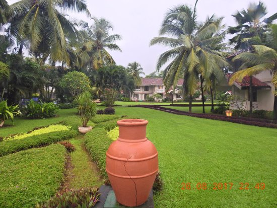 Landscaping at the resort