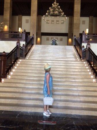 Grand Hyatt Doha Hotel & Villas: Some really lovely interior features