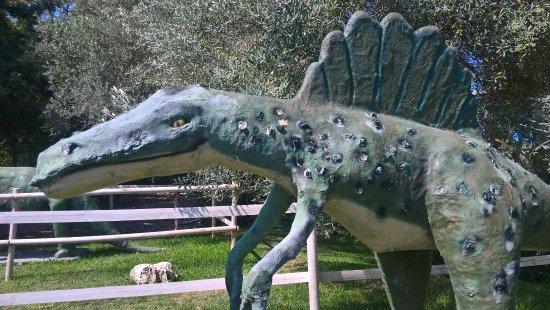 Aretusa park: Dinosauri