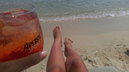 Aperanto Galazio: Aperol on the beach