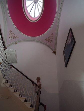 Terrace Hotel: Escalier de la maison victorienne