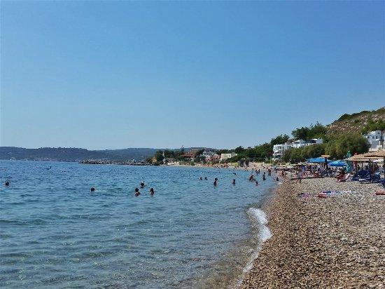 Agia Fotini Beach Picture of Agia Fotia Beach Chios Town