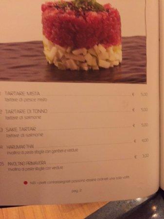 menu i prezzi non sono indicativi in quanto all you can eat ...