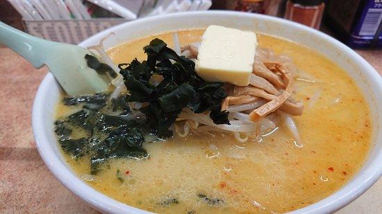 Aji no Sapporo Onishi : 味噌とカレーと牛乳のスープ