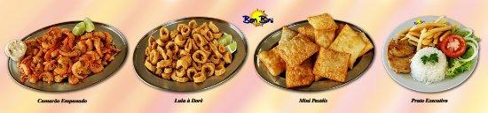 Quiosque Bon Bini: pratos sempre preparados na hora