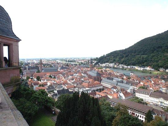 Heiligenberg : vista desde el mirador del castillo del pueblo