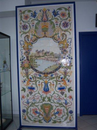 Desvres, Francia: une des pièces exposées