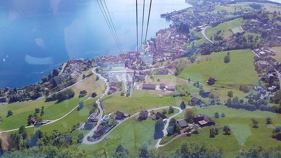 Mineralbad & Spa Rigi-Kaltbad: on the way up