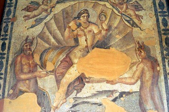 As Suwayda Museum: Одна из мозаик музея