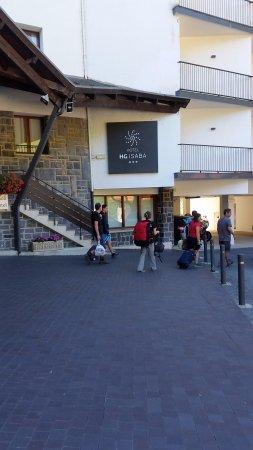 Hotel HG Apartamentos Isaba: Muri dello stabile con crepe