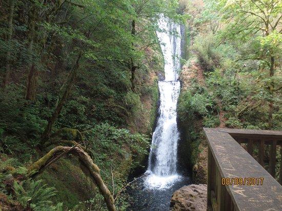 Corbett, OR: 2-state falls