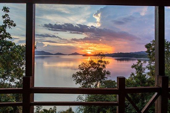 Lubok Antu, Malaysia: Great sunsets.