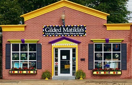 Gilded Matilda's