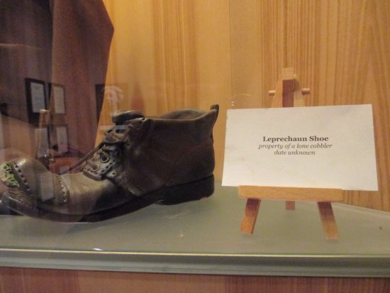 National Leprechaun Museum: Leprechaun shoe