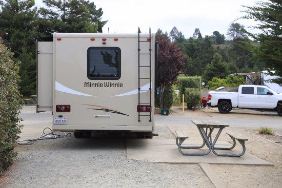 La Selva Beach, CA: Emplacement pour camping car