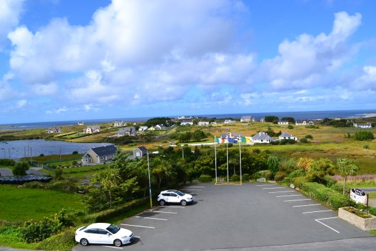 Bunbeg, Ireland: Our Front View Rooms