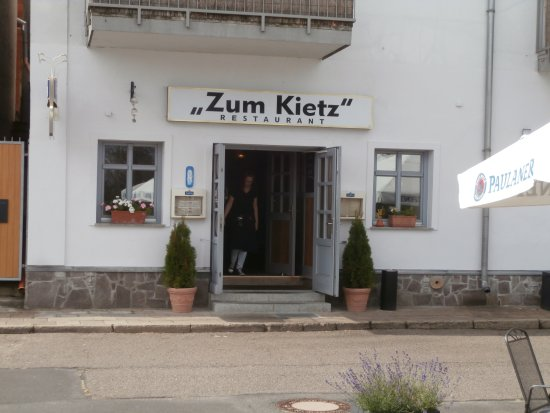 Restaurant Zum Kietz Eisenh 252 Ttenstadt Restaurant
